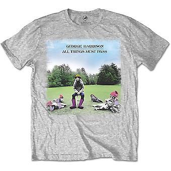 George Harrison Beatles alla saker måste passera officiella T-shirt