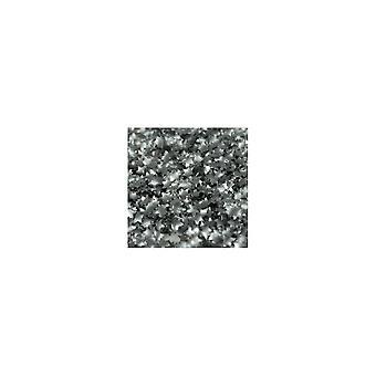 Rainbow Dust Comestível Dark Silver Star Confetti - 1.4g