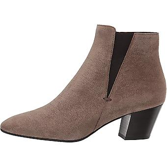 Aquatalia Women's Faylynn Pebbled Suede Ankle Boot,