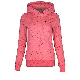 Alife och Kickin SarahAK A Sweat Kvinnors Sweatshirt Hoodie med Hood XS-XXL