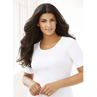 Glamorise Women's Plus Size T-Shirt Bra con cinghie senza cuciture, , Taupe, Taglia 36H