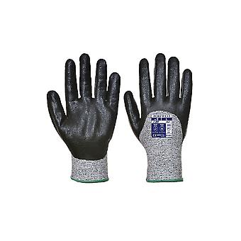 Portwest cut 3/4 nitrile foam workwear safety gloves a621