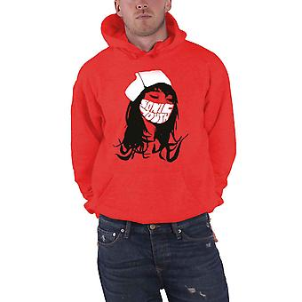 Sonic Youth Hoodie Sonic Nurse Band Logo new Official Mens Red Pullover