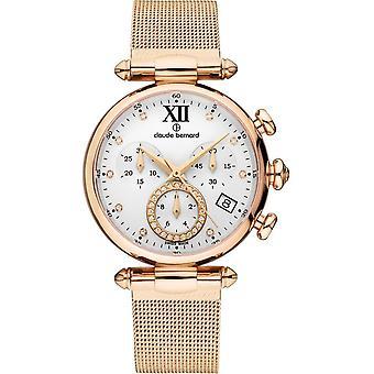 Claude Bernard - Wristwatch - Women - Dress code Chronograph - 10216 37R APR1