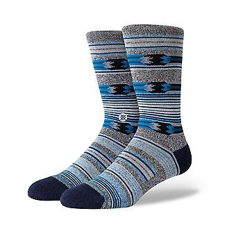 Stance Pasqual Crew Socks in Black