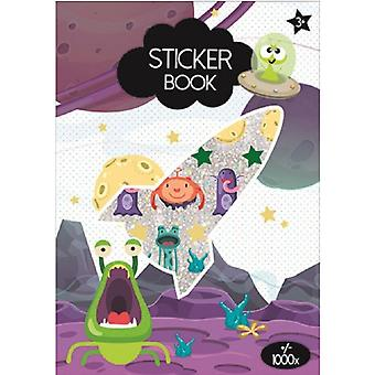 ca. 1000 Sticker Monster/Space