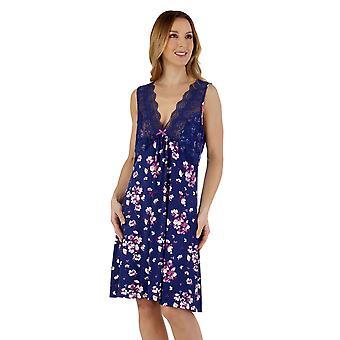 Slenderella GL55701 Women's Gaspe Floral Nightdress