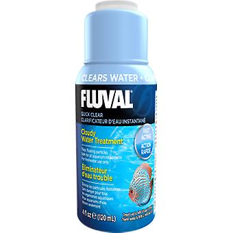 Fluval Fluval Quick Clear - 4 fl oz (120 ml) (Fish , Maintenance , Water Maintenance)