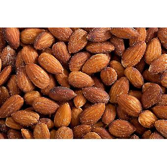 Organic Almonds Roasted Salted -( 13.97lb Organic Almonds Roasted Salted)