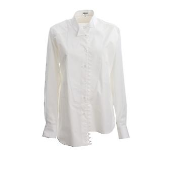 Loewe S2109222su2100 Women's White Cotton Shirt