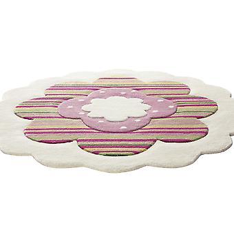 Esprit blomma form cirkulär mattor 2840 09 Beige