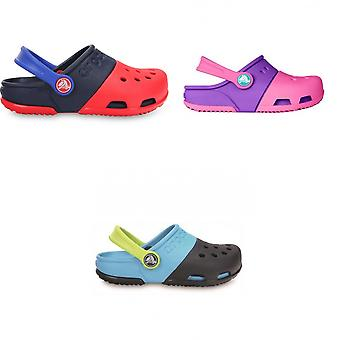 Crocs Childrens/Kids Electro II Slip On Clogs