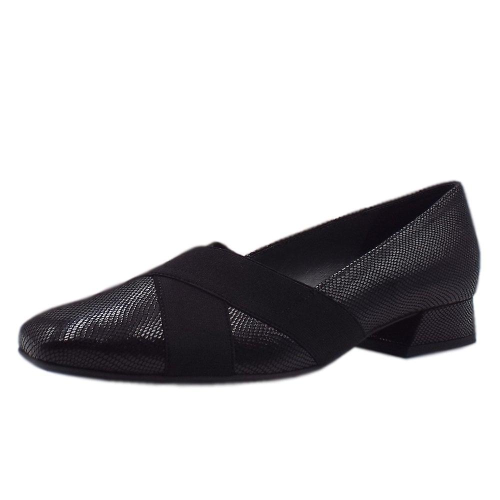 Peter Kaiser Zenja Low Heel Wide Fit Ballet Pumps In Black Sarto 00CqJ