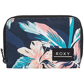 Roxy Dear Heart Polyester Wallet in Anthracite Tropicoco S
