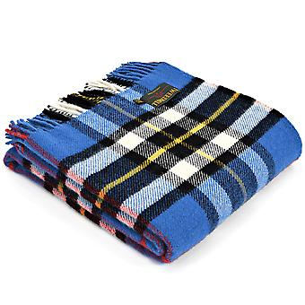 Tweedmill Pure New Wool Knee Lap Blanket, Dress Thompson