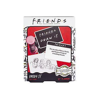 Gli amici con licenza ufficiale disegnano party Challenge Game 50 Carte Domande