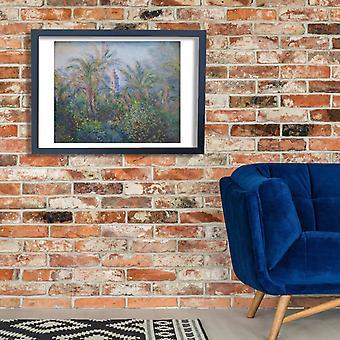 Claude Monet - ogród w Bordighera plakat Giclee druku