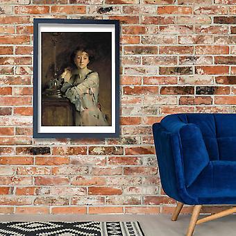 John Singer Sargent - Mrs. Charles Russel Poster Print Giclee