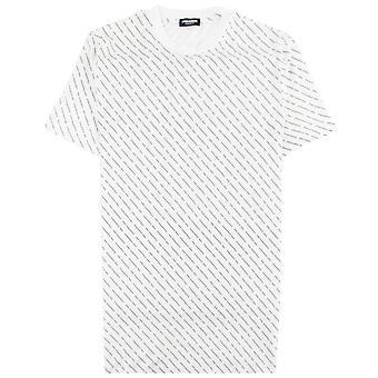Dsquared2 Shorts de bain et sous-vêtements Dsquared2 1964 Mini Logo T-shirt Blanc