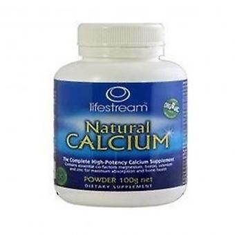 Lifestream - Natural Calcium 100g