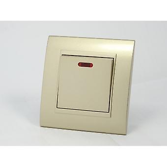 Eu LumoS como luxo ouro arco plástico 45A comutada único interruptor fogão