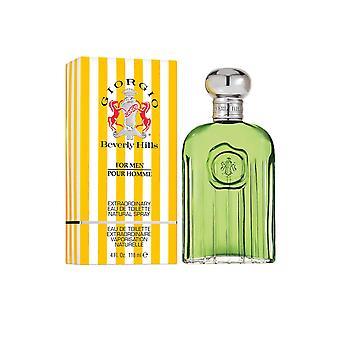 Giorgio for Men Eau de Toilette Spray 118ml Beverly Hills pour Homme