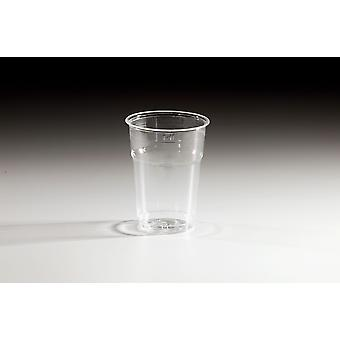 Crystal Styrene Disposable Plastic Tumbler Cold Cups 4oz
