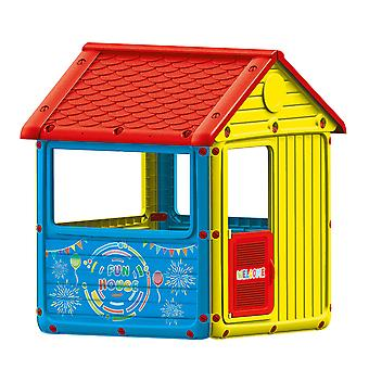Dolu 'My First House' Playhouse Indoor or Outdoor Game for Children Easy Installation Safe Play