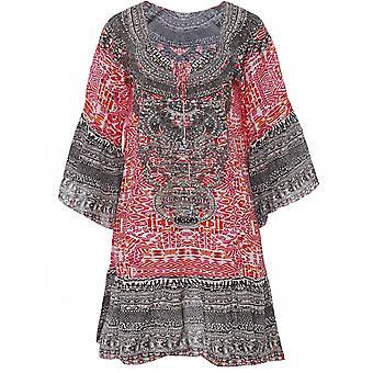 Inoa Shiraz Silk Gypsy Dress