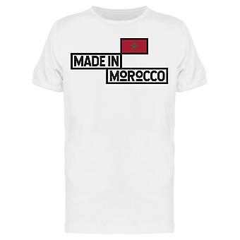 صنع في المغرب البلد تي الرجال و apos;s -الصورة من قبل Shutterstock