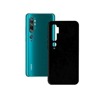 Mobile cover Xiaomi Mi Note 10/note 10 Pro KSIX Soft Cover TPU Black