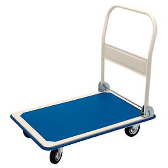 Draper 4692 300Kg Platform Trolley With Folding Handle - 900 x 600 x 850mm