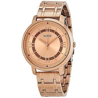 Gissa W0933L3 Montauk Rose Dial Rose Guld PVD Ladies Watch