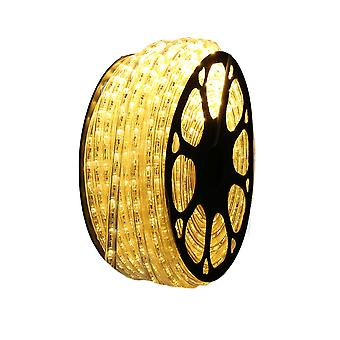 Jandei LED luminous thread for warm white decoration, 50m coil, outdoor installation, IP65 watertight, 220-240V with rectifier, 0.5m cut, Christmas, party, event