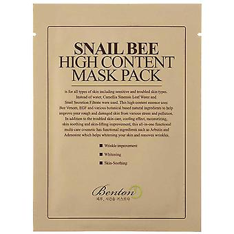 Benton Snail Bee High Content Mask 20 gr