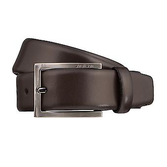 Strellson belts men's belts leather leather belt Brown 3194