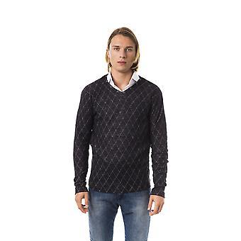 Black Pullover Byblos Man