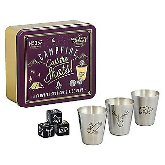 Gentlemen's Hardware Campfire Call Shots (Cup & Dice Game)