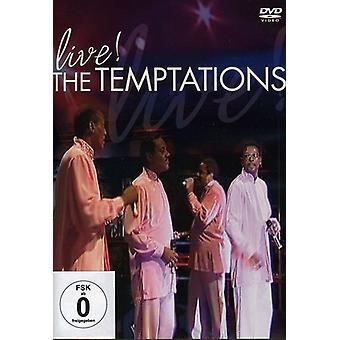 Temptations - Live! [DVD] USA import