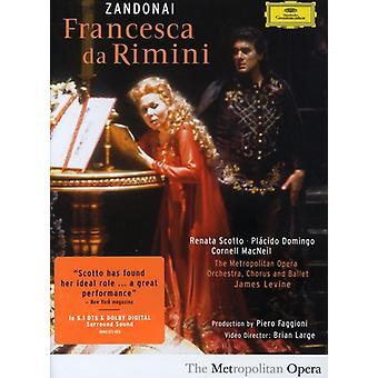 R. Zandonai - Zandonai: Francesca Da Rimini [DVD Video] [DVD] USA import