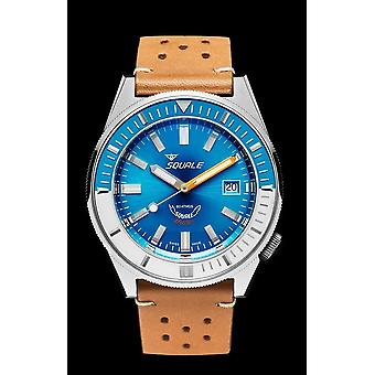 Squale Matic Light Blue Leather light brown MATICXSE. Ptc