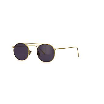 Cutler and Gross 1268 SUN GPL-PP Gold Plated/Pale Purple Sunglasses