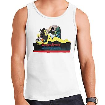 Hammer Horror Films Countess Dracula Movie Poster Men's Vest