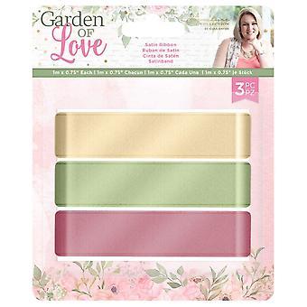 Crafter's Companion Garden of Love Satin Ribbon