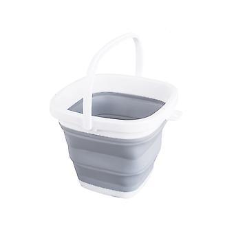 YANGFAN Přenosné multifunkční plastové čištění skládací kbelík