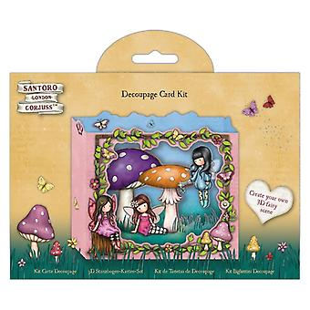 Gorjuss Faerie Vrienden Decoupage Card Kit
