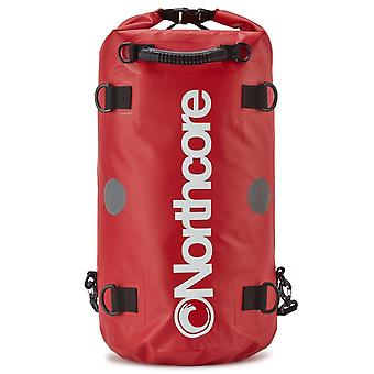 Northcore droge tas rugzak 40l rood