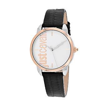 JC1L079L0035, Just Cavalli Women's Tenue - Plata - Reloj de cuarzo