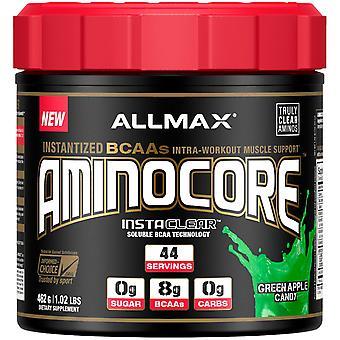 AllMAX Nutrizione, AMINOCORE, Instantized BCAAs Supporto Muscolare Intra-Allenamento, Gre