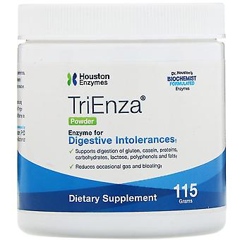 Houston Enzymes, TriEnza Powder, 115 g